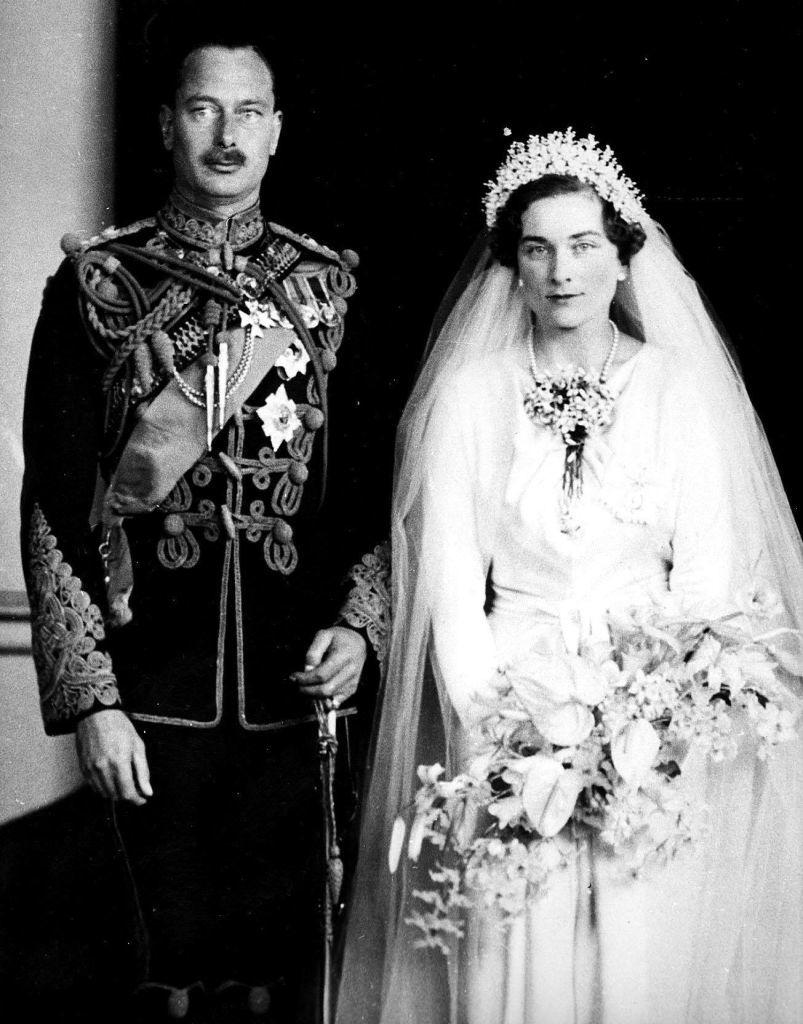 Henrik gloucesteri herceg és Aliz hercegné esküvői képe (Fotó: PA Images via Getty Images)