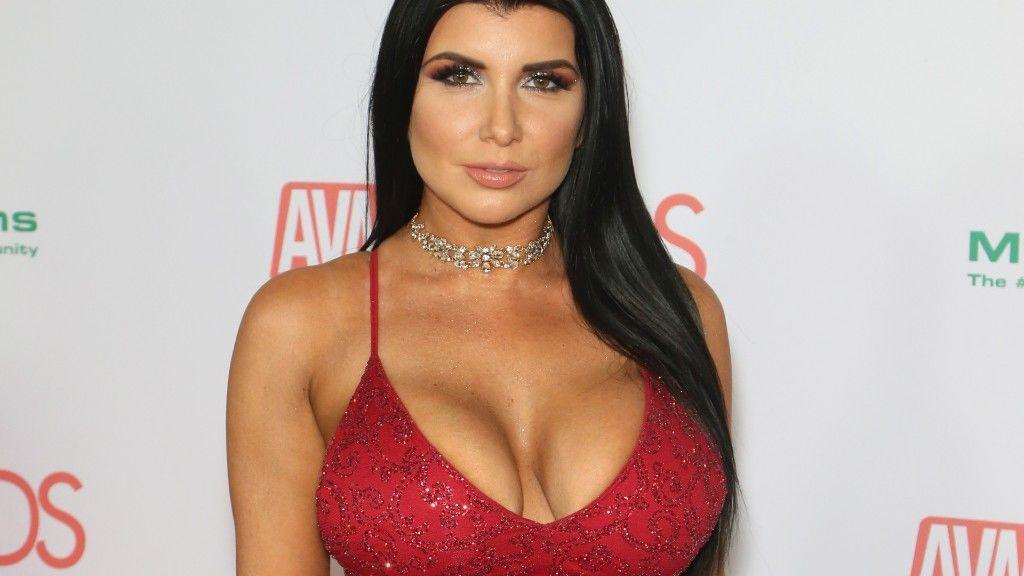 Romi Rain egy pornós díjátadón Las Vegasban 2018 januárjában (fotó: Gabe Ginsberg/Getty Images)