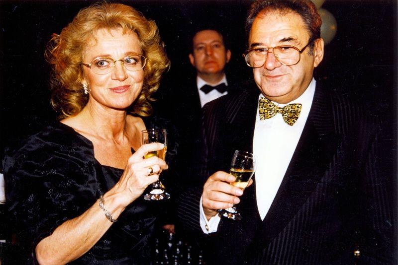 Szinetár Miklós és Hámori Ildikó 2000-ben