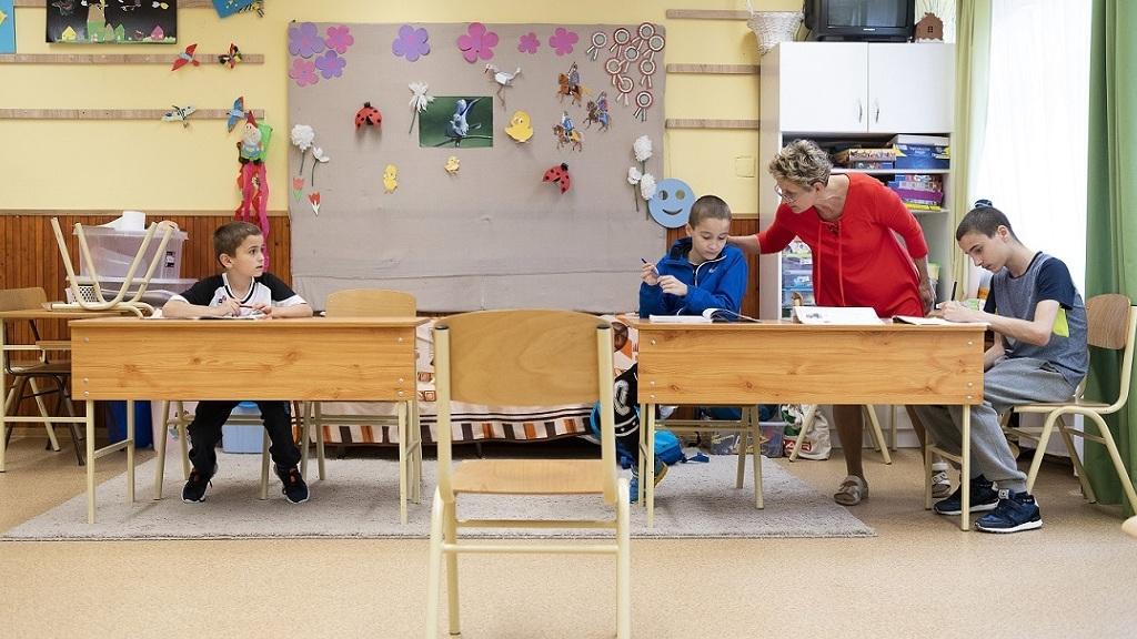 Iskola - Fotó: MTI