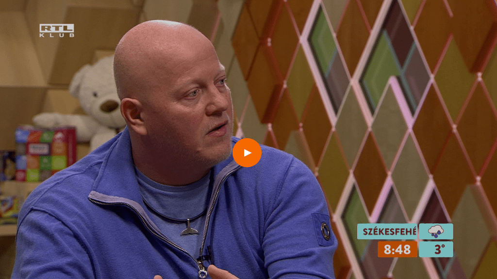Marschall Péter - Fotó: RTL Klub