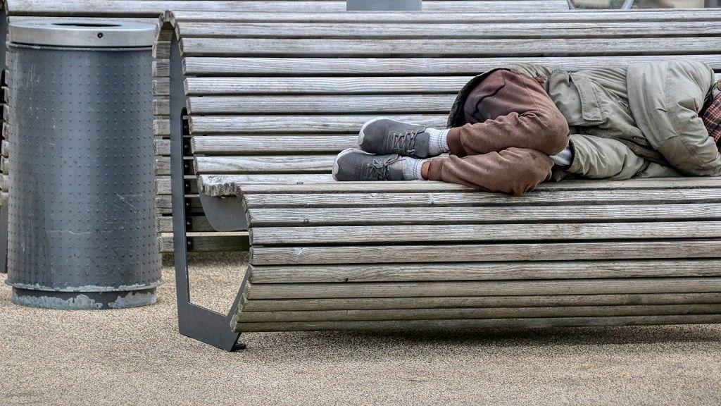 Hajléktalan - Fotó: Pixabay