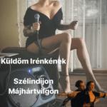 Tóth Gabi tunikában énekel
