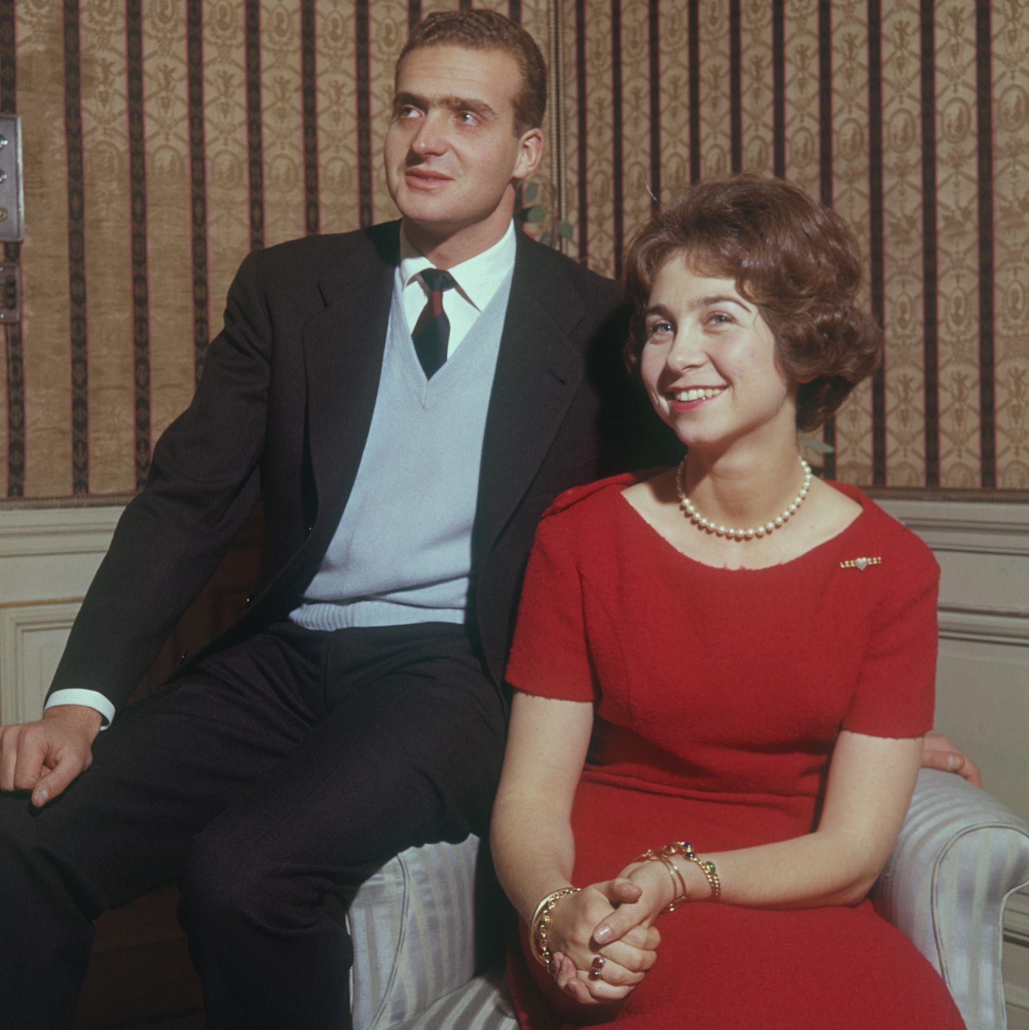 Feleségével a hatvanas években (fotó: Keystone/Getty Images)