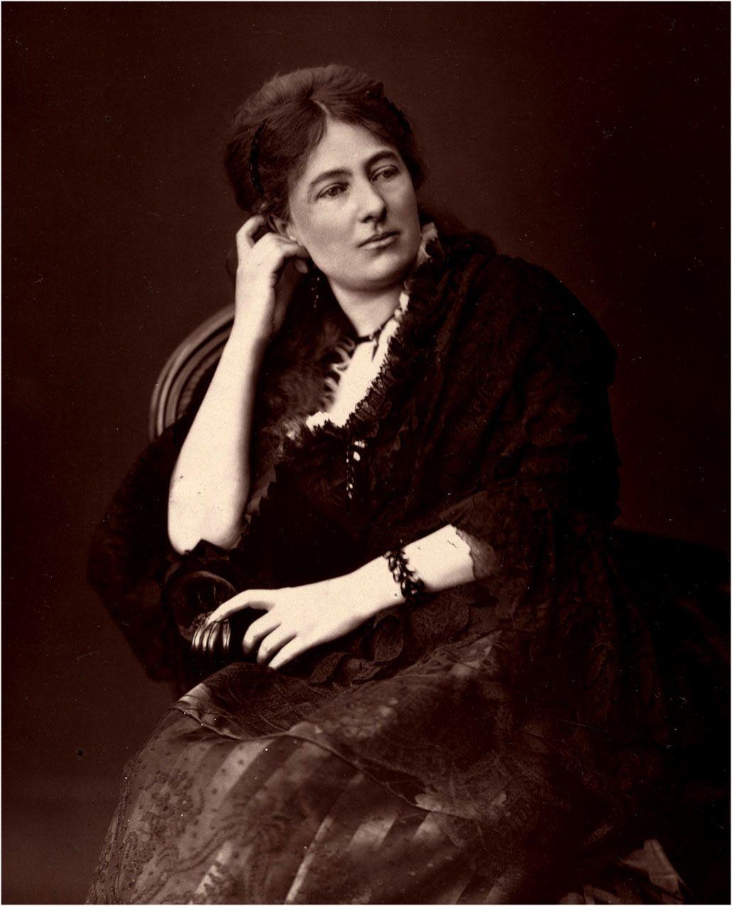 Juliette Adam a 1880-as évek elején (fotó: Wikipedia)