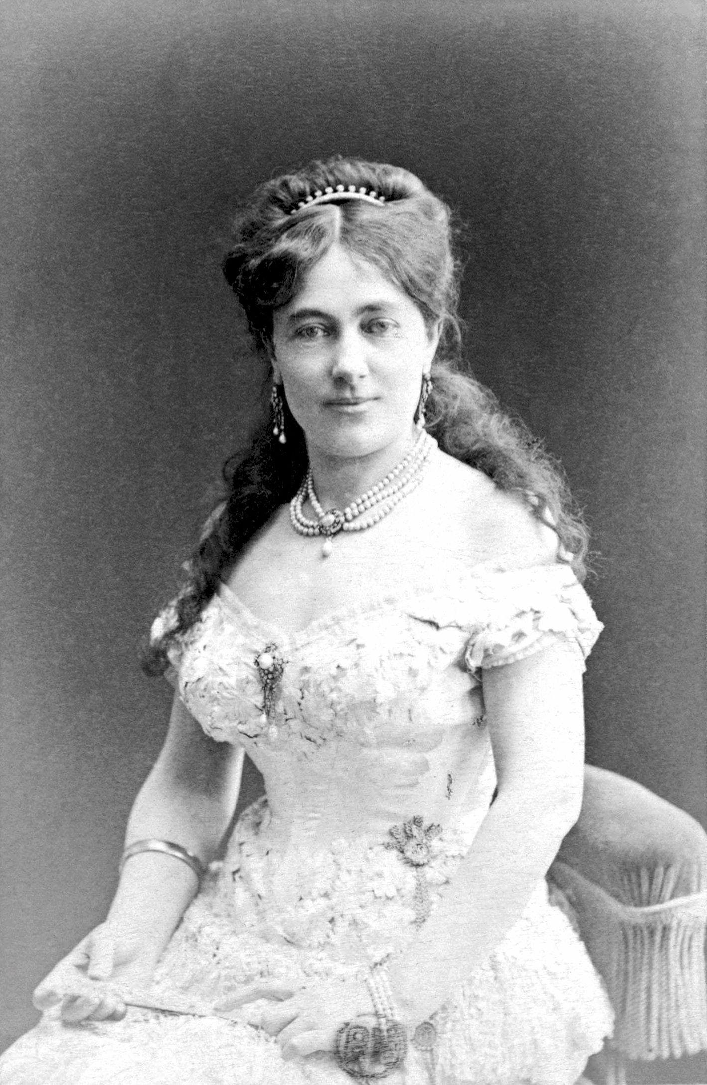 Juliette Adam portréja (fotó: Nadar/Wikipedia)