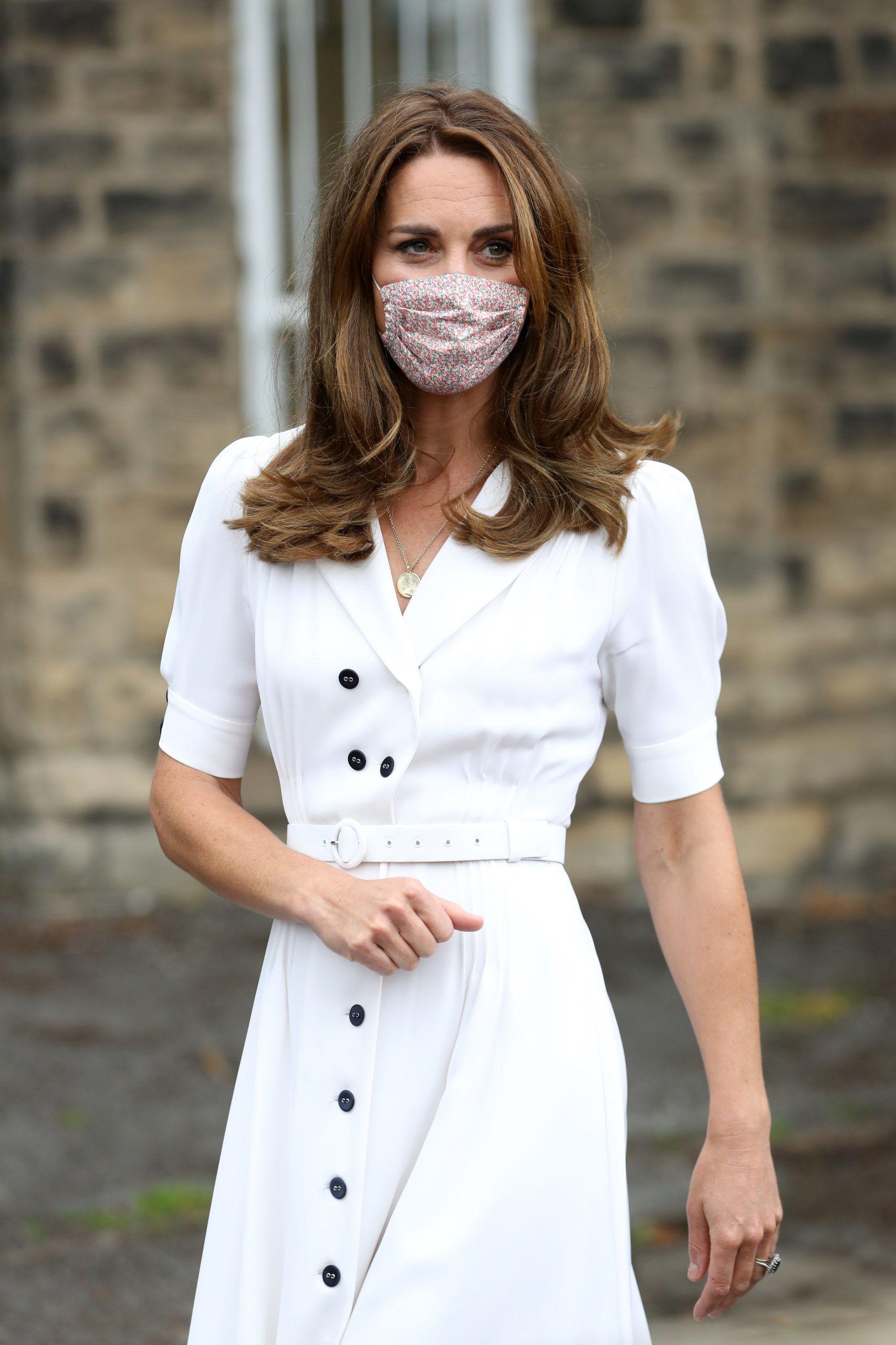 Katalin hercegné mostható maszkban jelent meg az eseményen