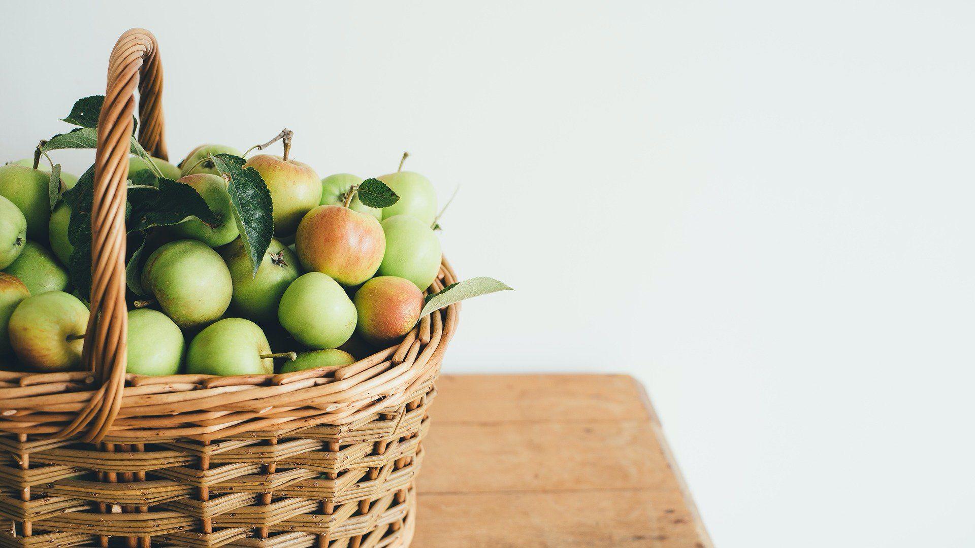 Kosárban almák
