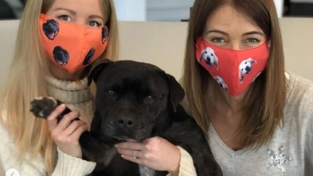házikedvencünk arcképével díszített maszkot is készítenek már Ausztráliában