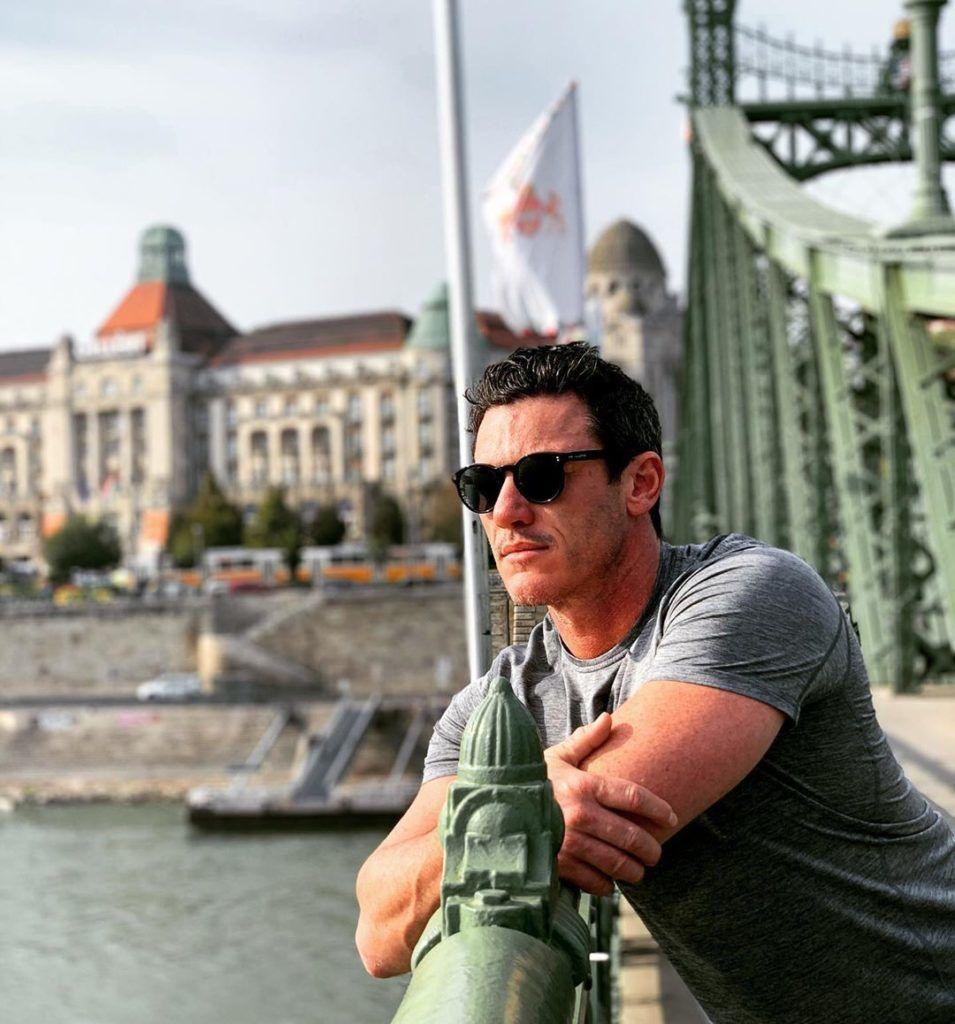 Luke Evans Budapesten