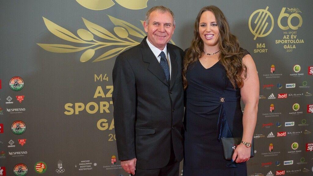 Márton Anita a 2018-as Év Sportolója díjátadó gálán (Fotó: Smagpictures.com / Szabolcs Birton)