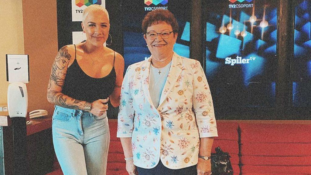 Müller Cecília és Tóth Gabi közös képe