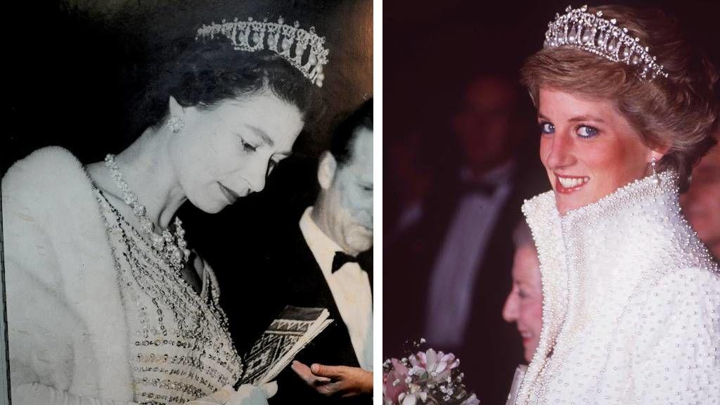Diana hercegnő és II. Erzsébet