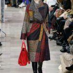 patchwork mintás kabát Akris
