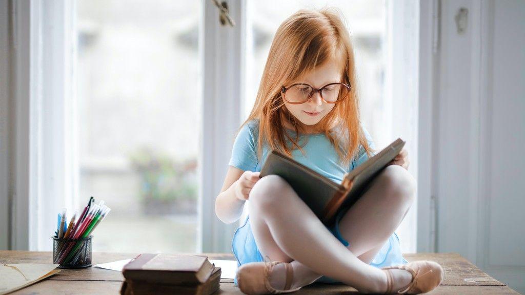 könyv, olvasás, memória, diák, gyerek, tanulás