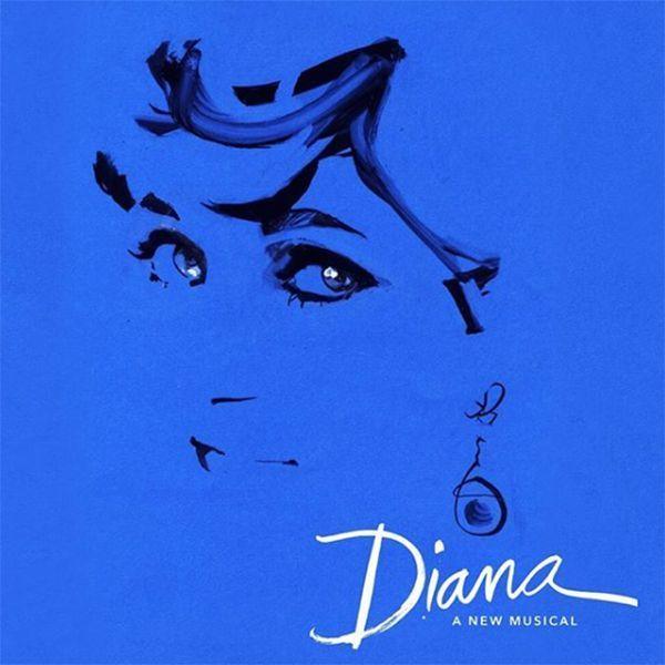 A Diana musical plakátja (Forrás: La Jolla Playhouse)