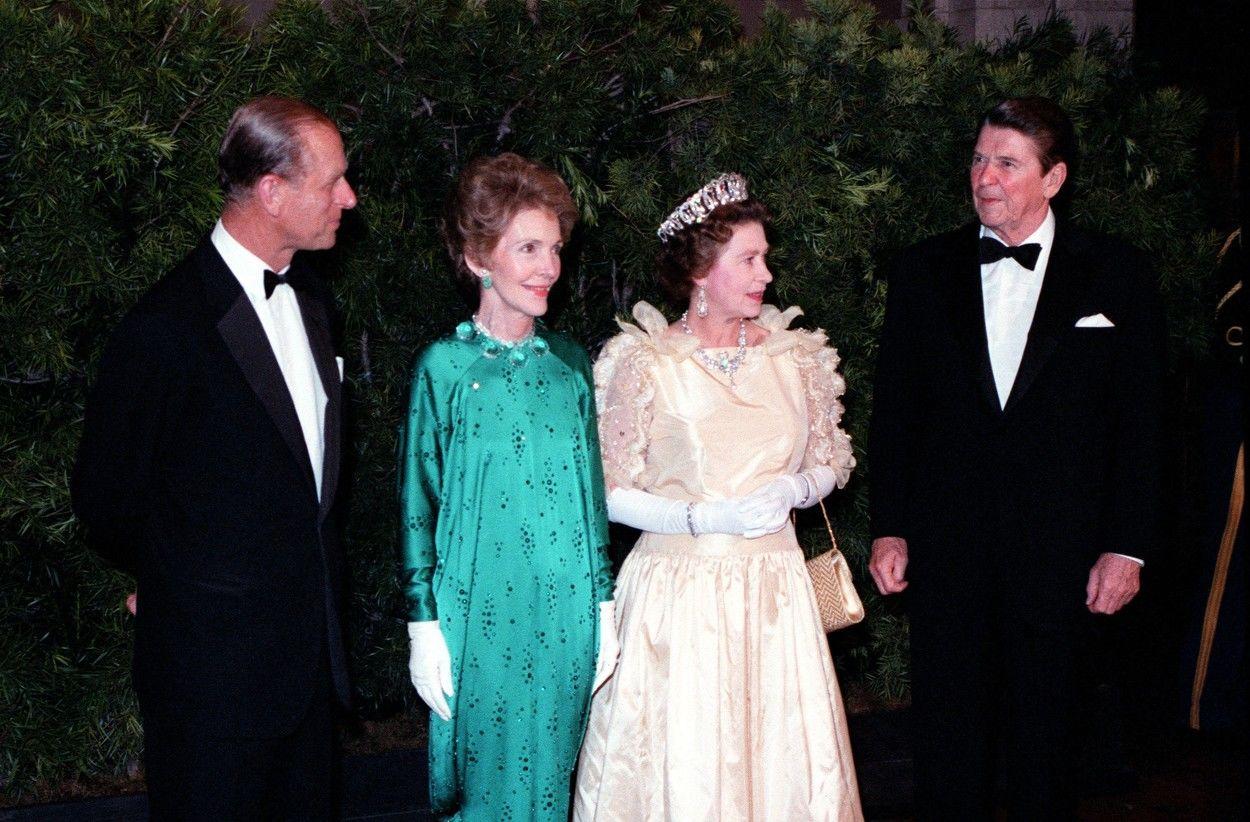Fülöp herceg és Ronald Reagan