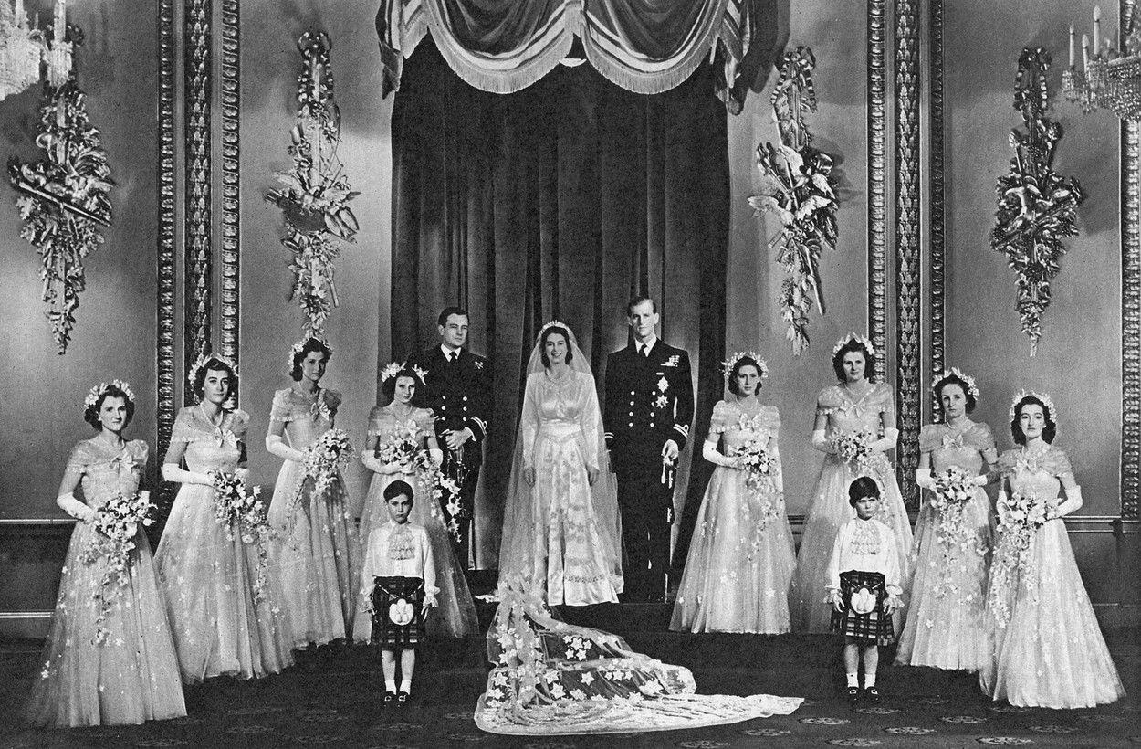 Fülöp herceg és II. Erzsébet esküvője