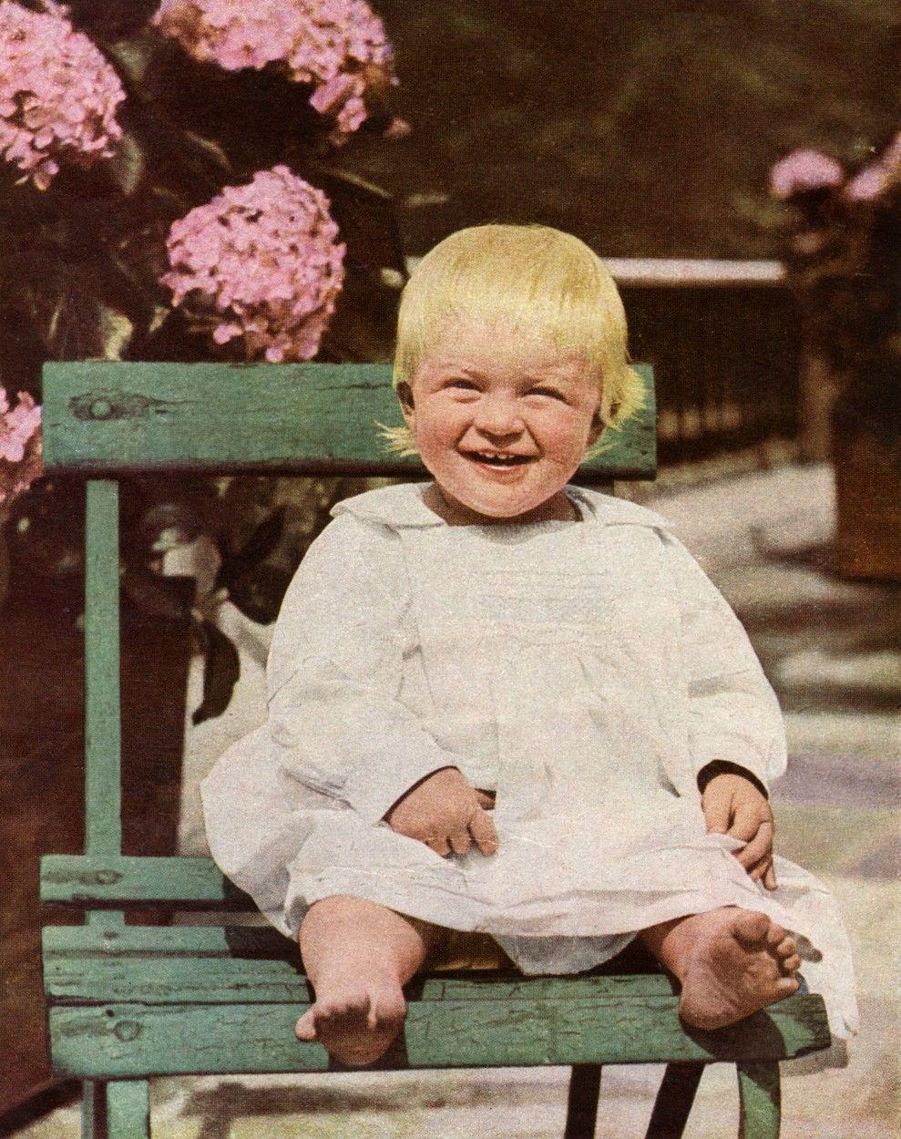 Fülöp herceg gyerekként