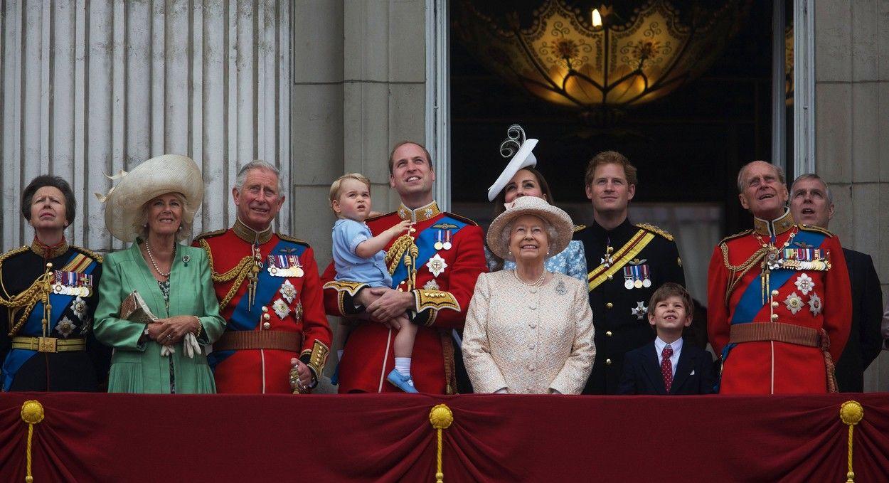 II. Erzsébet és családja 2015-ben