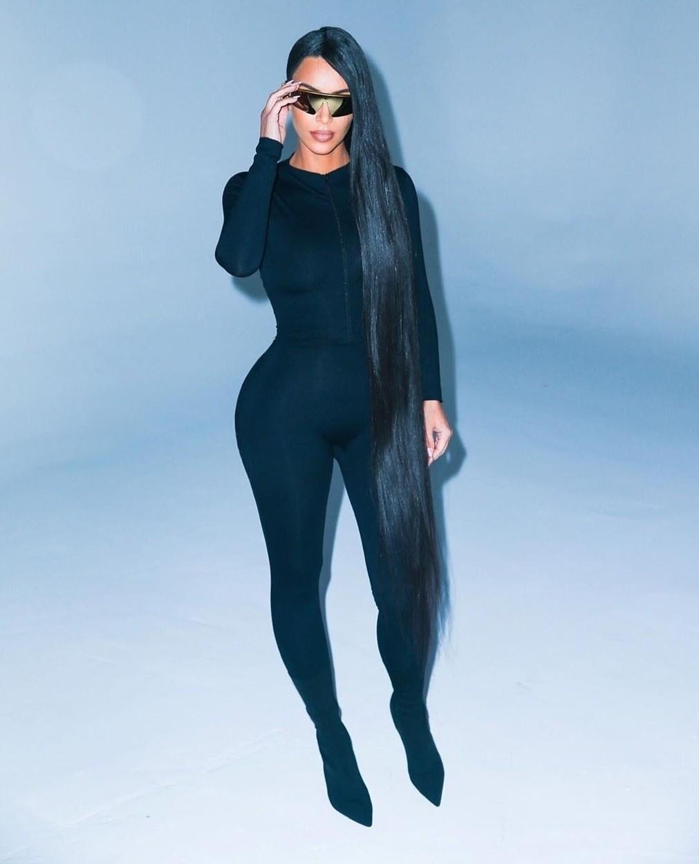 Kim Kardashian haja