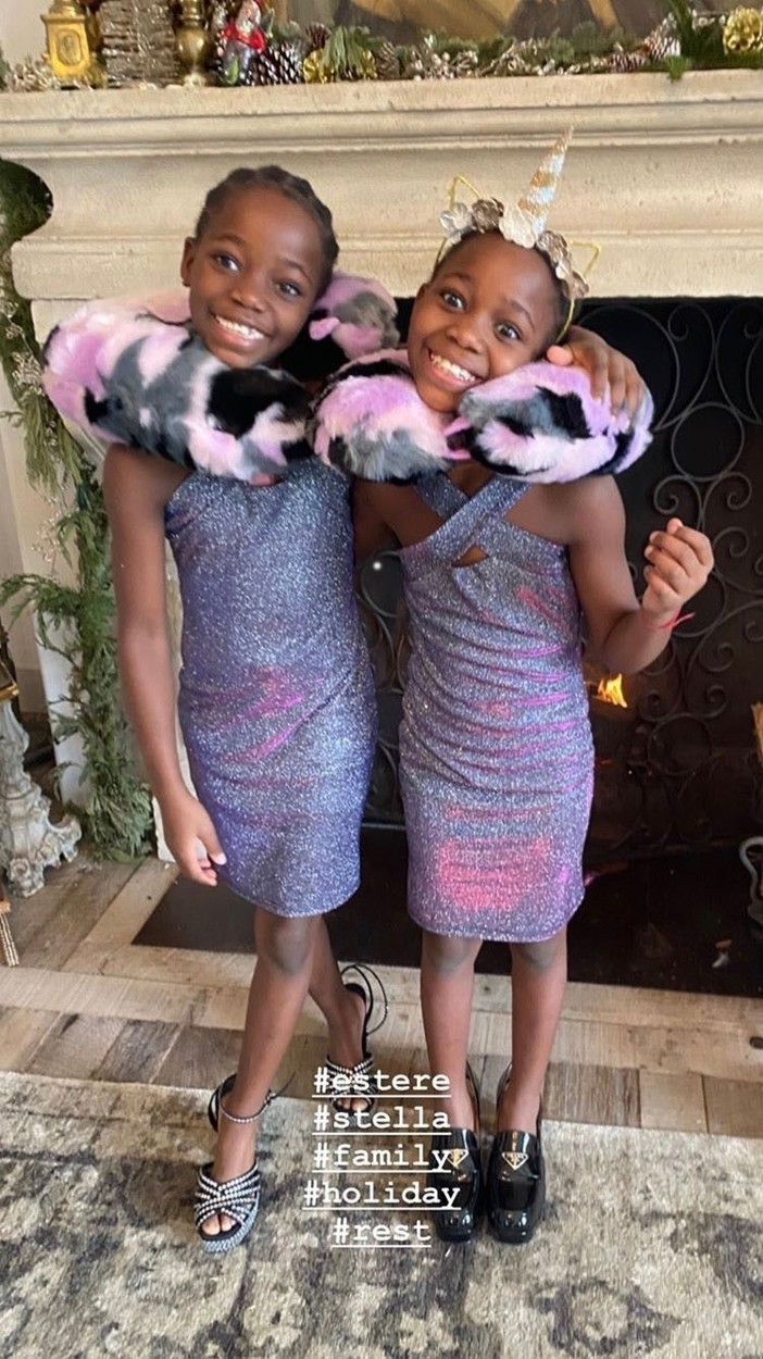 Esther és Stella Mwale