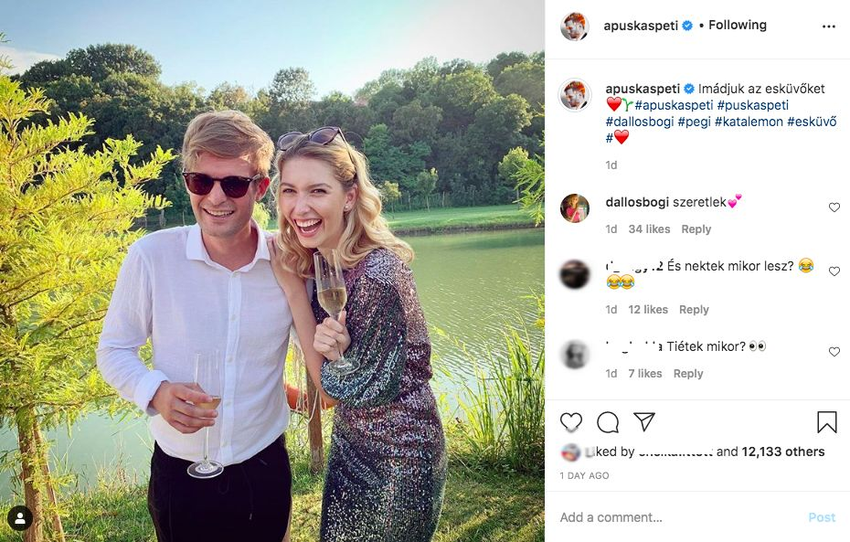 Puskás Peti és Dallos Bogi fotóinál leggyakrabban ugyanaz a kérdés merült fel: mikor házasodik össze a két zenész?