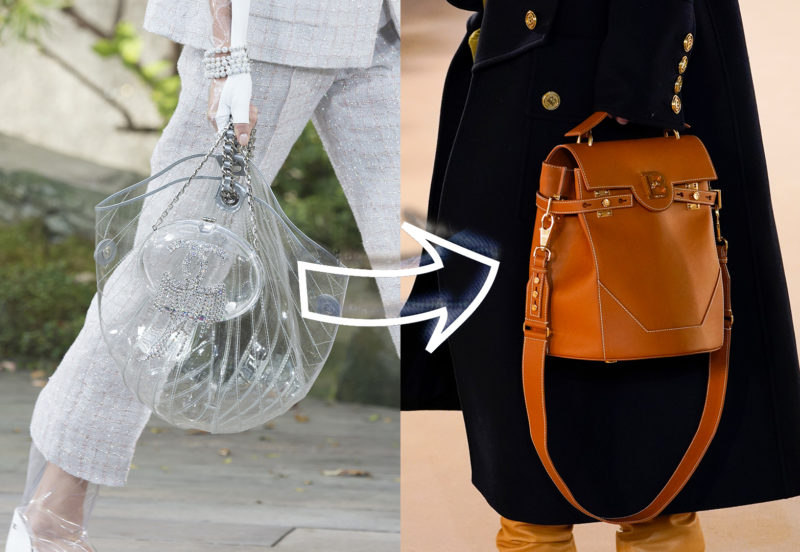 Kimentek a divatból az átlátszó PVC táskák