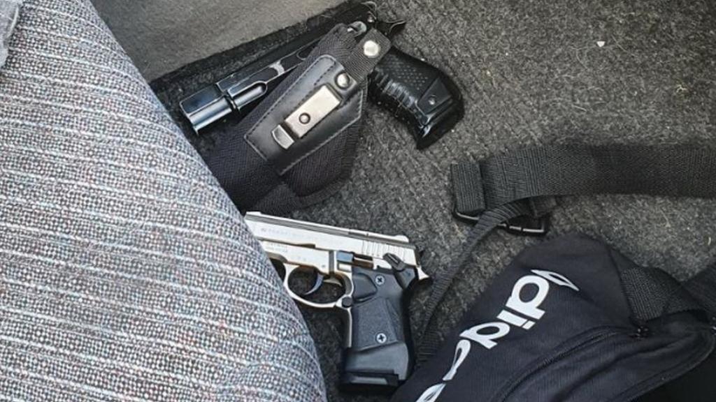 fegyveres rablás