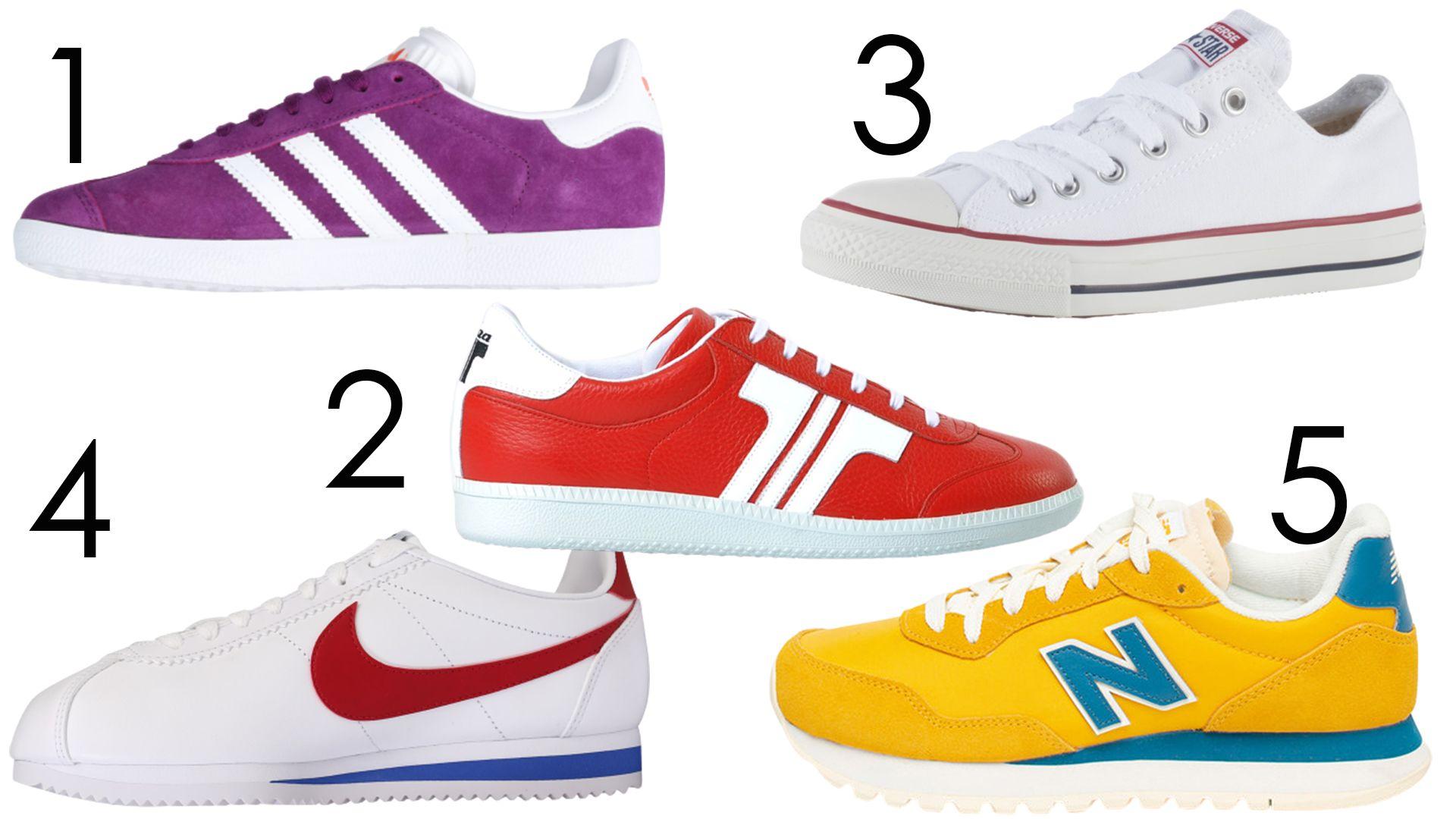 Boltmustra - retro sportcipők