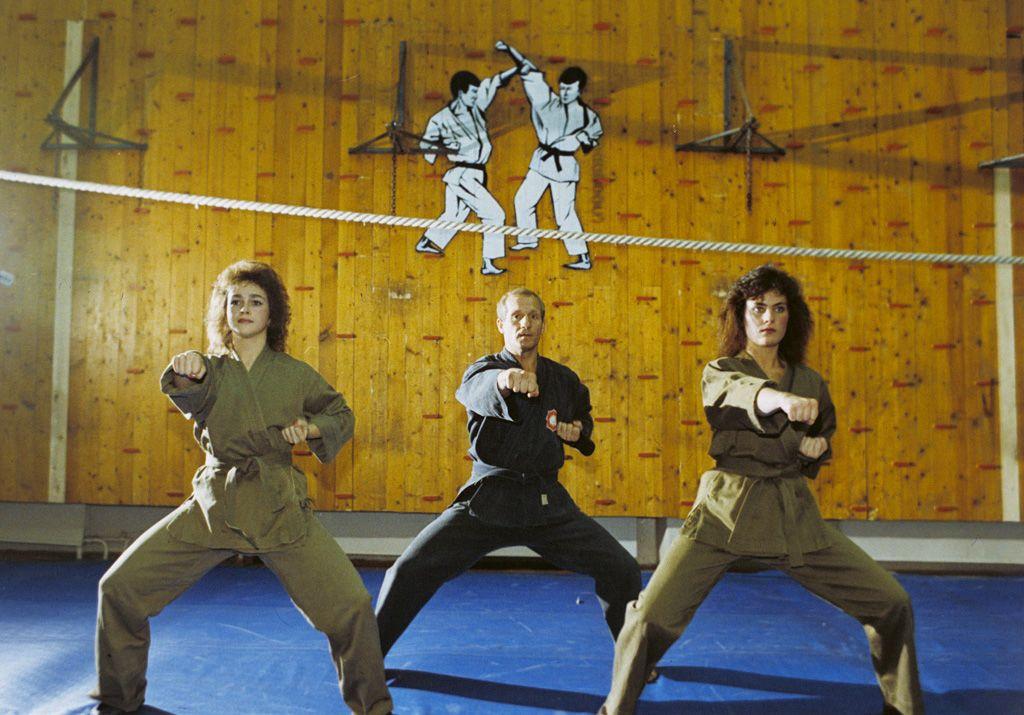 Miss KGB karateedzés közben (fotó: fotó: ru.m.wikipedia.org/RIAN archive)