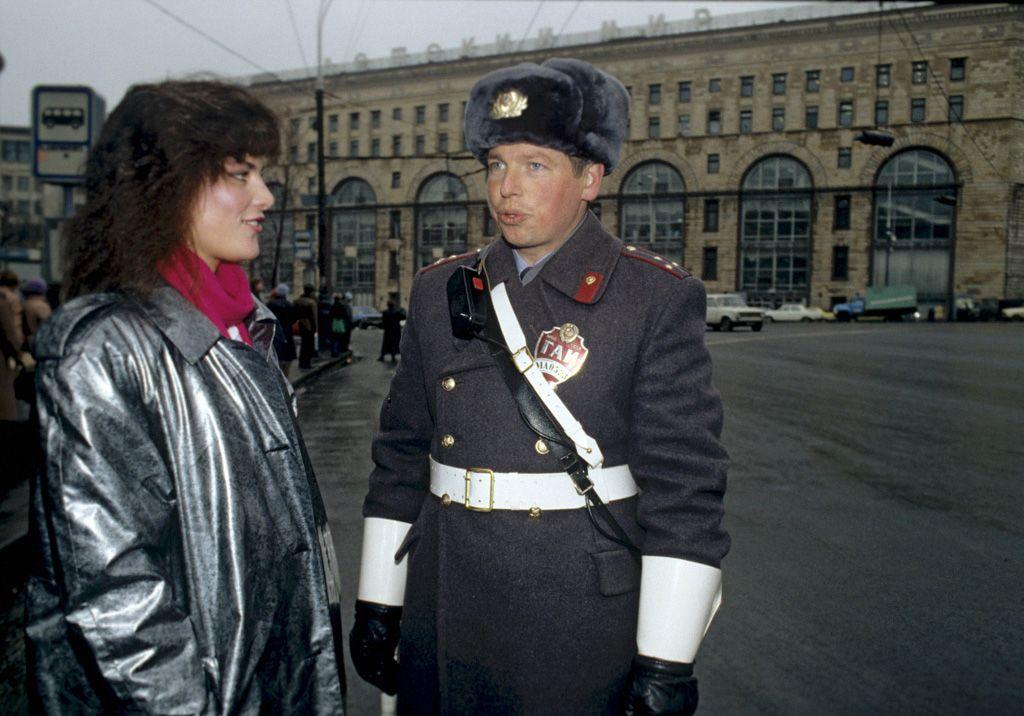 Miss KGB, azaz Kátya Majorova (fotó: ru.m.wikipedia.org/RIAN archive)