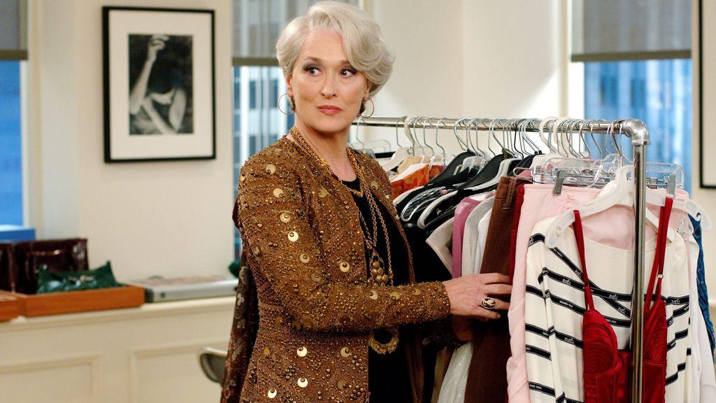 A Bikának ösztönös érzéke van a széphez, pont úgy, mint az Ördög Pradát visel című filmben Miranda Priestly-nek, akit Meryl Streep alakít zseniálisan. (Pillanatkép a filmből)