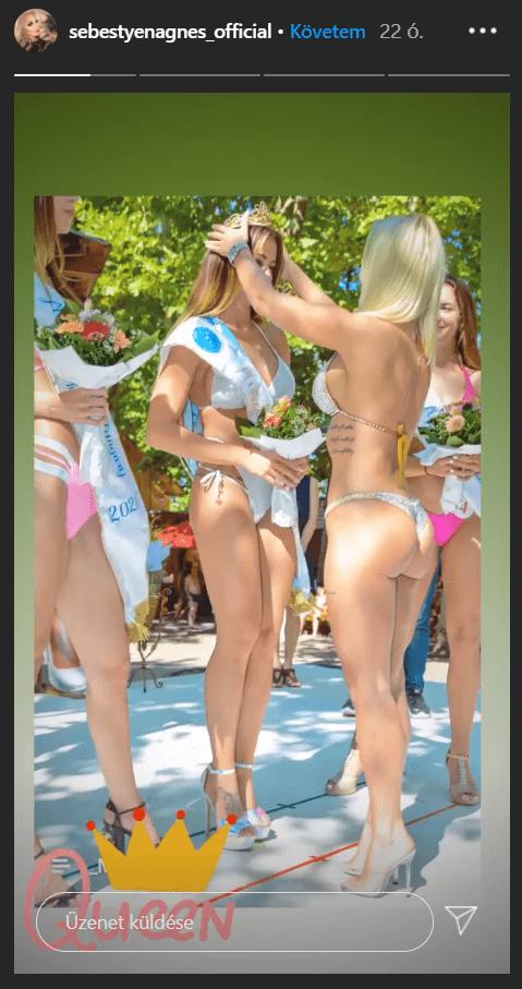 sebestyén ági miss bikini