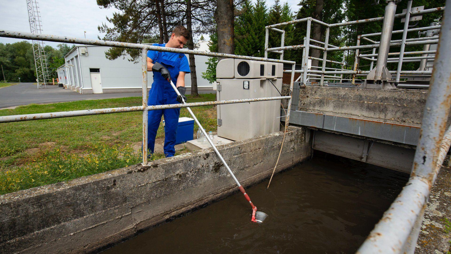 Koronavírus szennyvíz