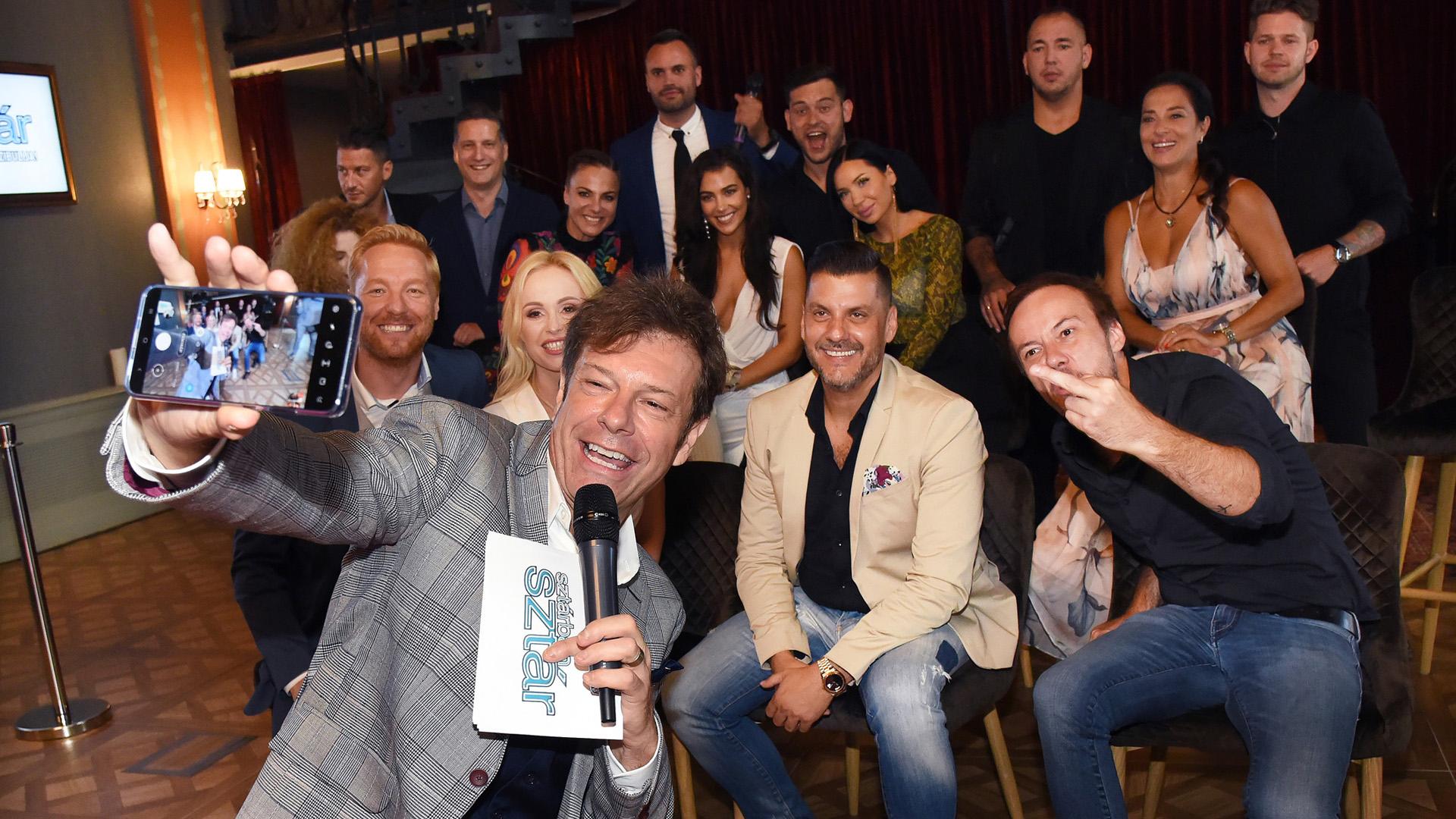 A Sztárban Sztár hetedik évadának sajtótájékoztatója