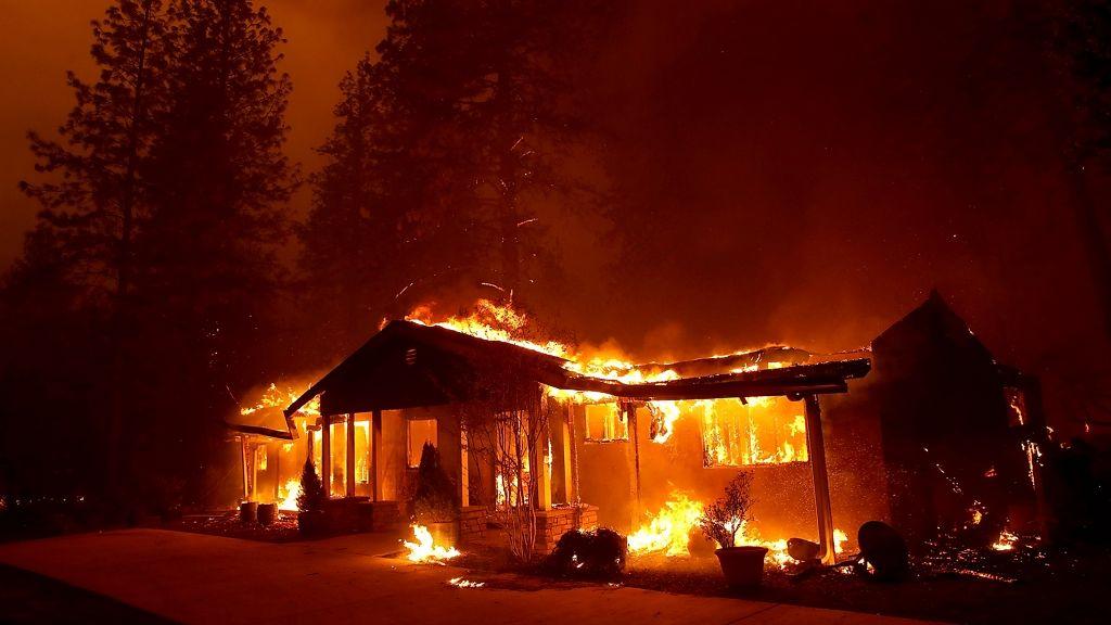 Porig égett az otthona a kaliforniai tűzvészben