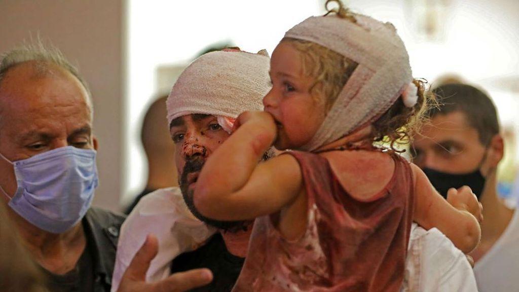 Közel százezer gyerek vált hontalanná a bejrúti robbanás miatt