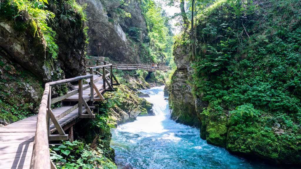 A Bledhez közeli Vintgar szurdok / Fotó: Unsplash