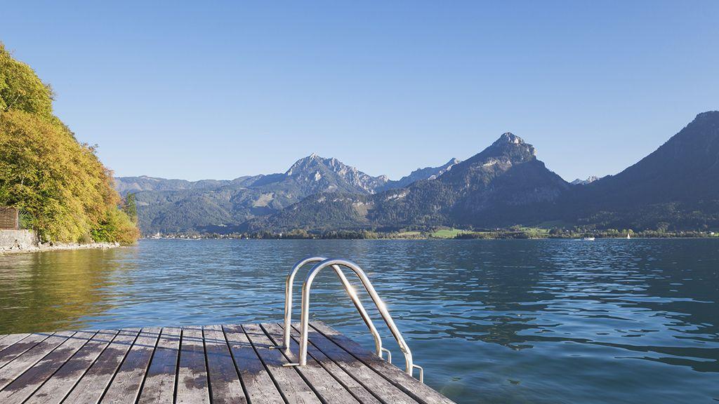 Salzkammergut tóvidékének egyik legszebb és legnépszerűbb tava