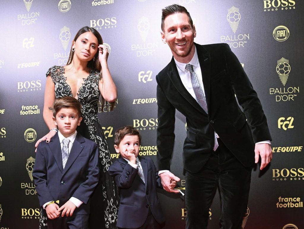 Lionel Messi és felesége Antonella Roccuzzo