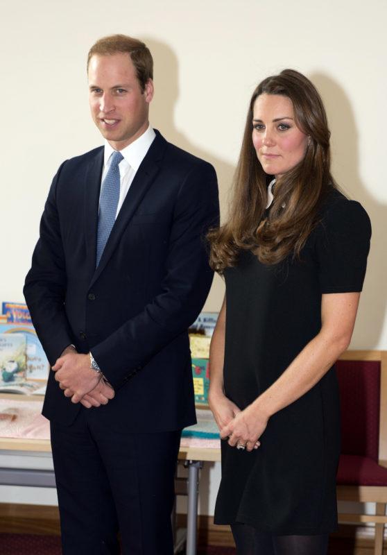 A hercegi pár Saundertonban
