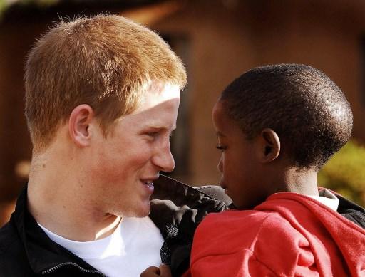 Harry herceg Afrikában
