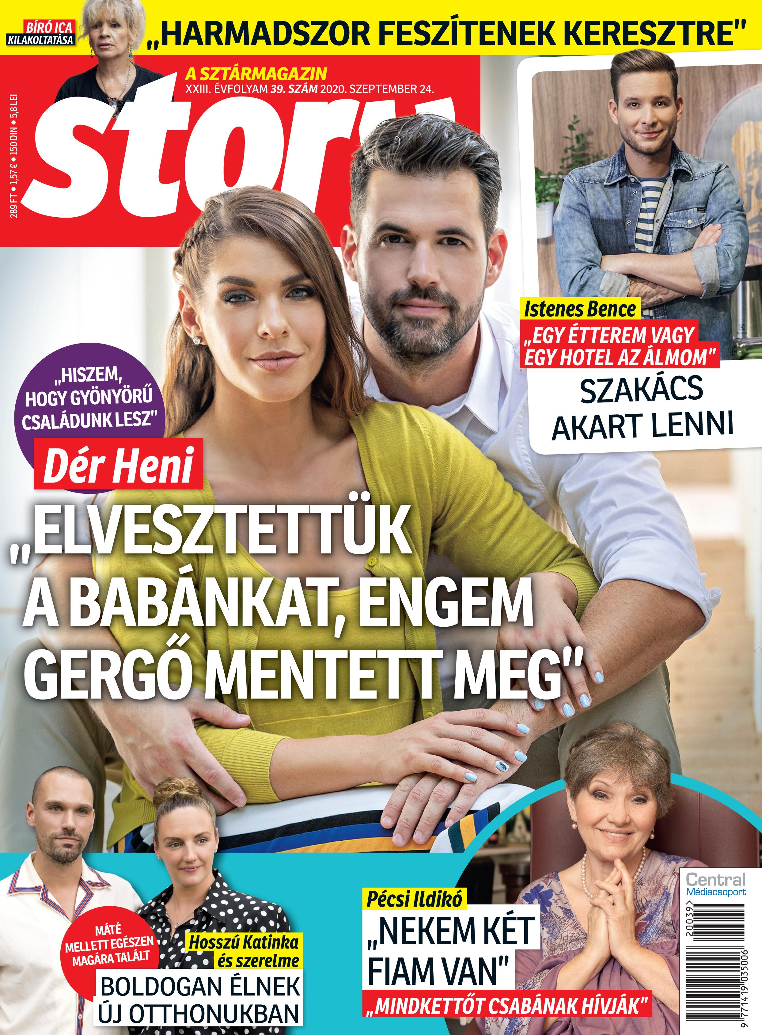 Story magazin címlap
