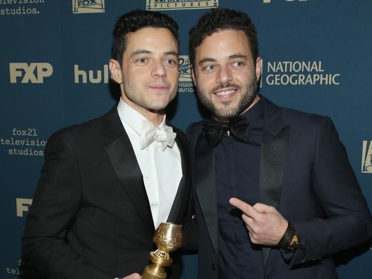 Rami és Sami Malek
