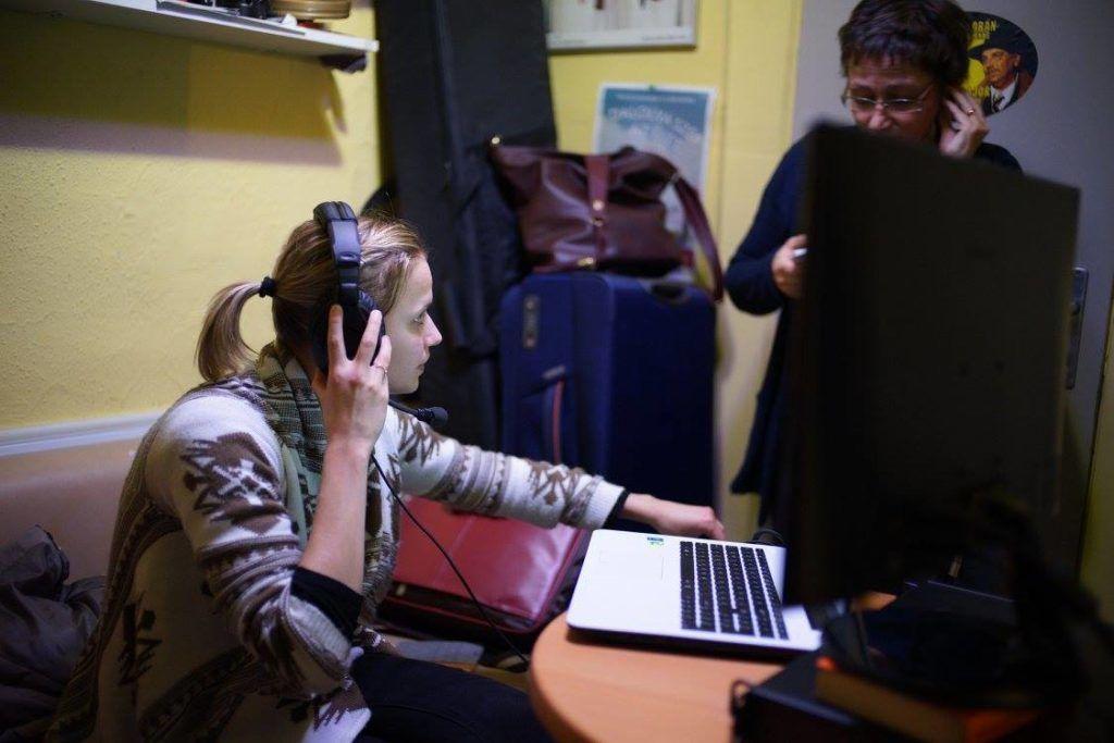 Audionarráció a Karinthy Színházban