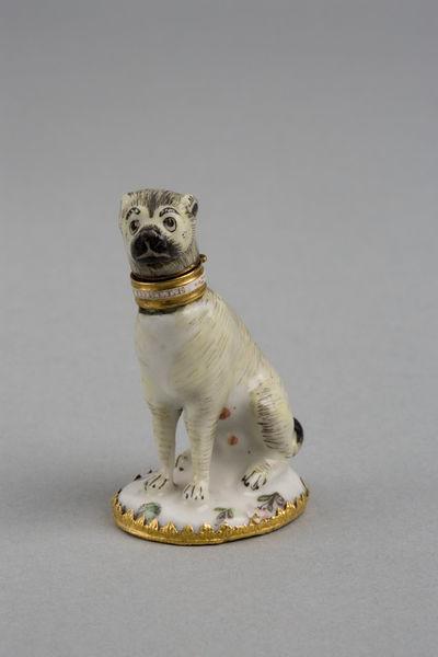 Hiénaszerű mopsz Charles Gouyne műhelyéből (fotó: collections.vam.ac.uk)