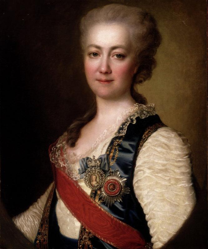 Jekatyerina Daskova, a cárnő bizalmasa