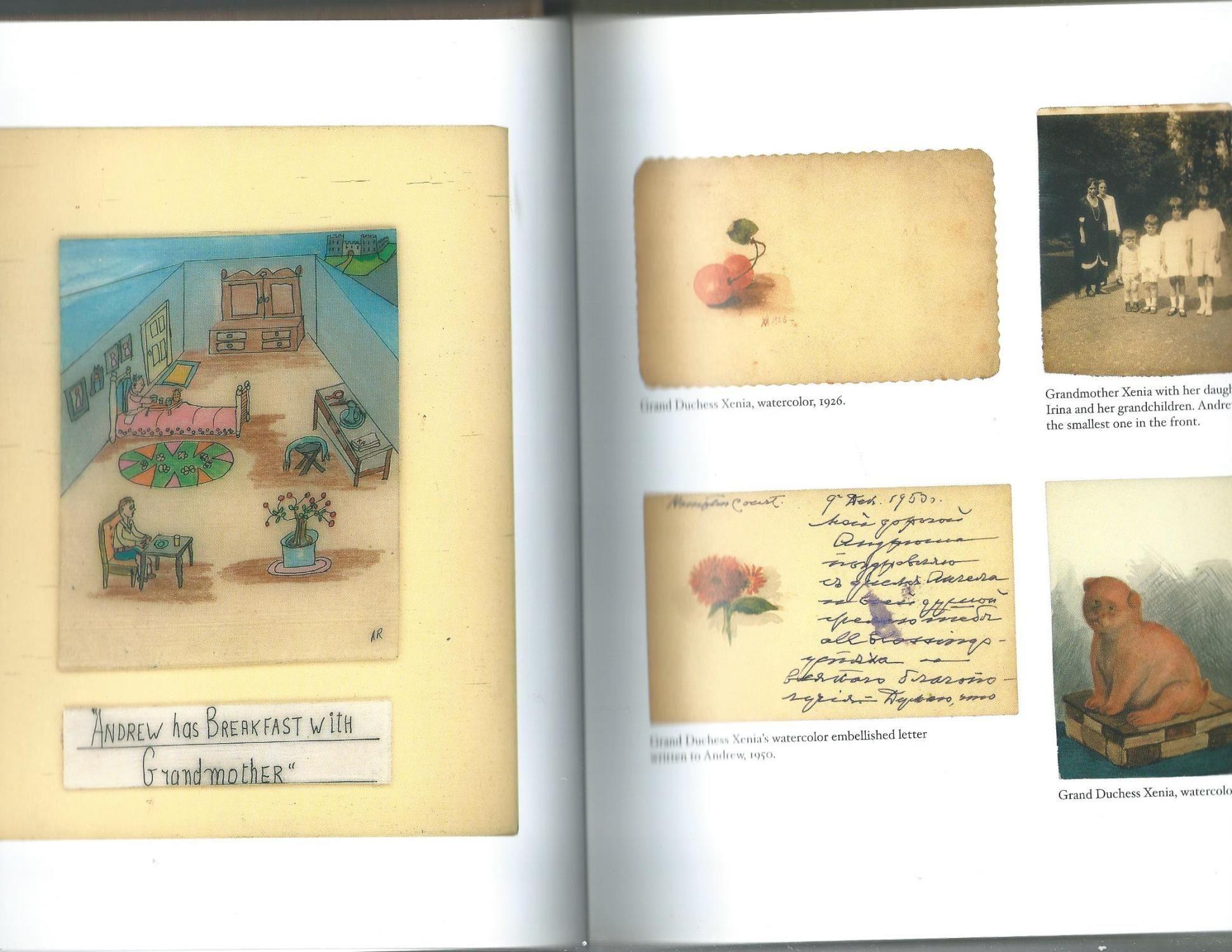 Részlet az A fiú, aki cár akart lenni c. könyvből (forrás: abebooks.com)