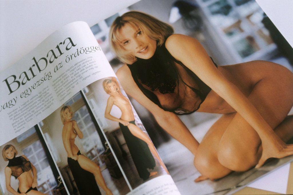 Xantus Barbara a látszat ellenére nehezen adta magát a Playboynak